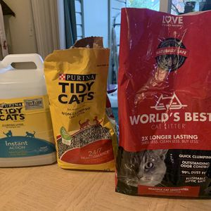 Various Cat Litters for Sale in Issaquah, WA