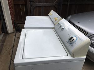 KENMORE WASHER AND HOTPOINT GAS DRYER . Both Work Perfect . for Sale in Plano, TX