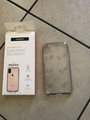 Case for iPhone Xs/X Final price No delivery pick up only for Sale in Huntington Park, CA