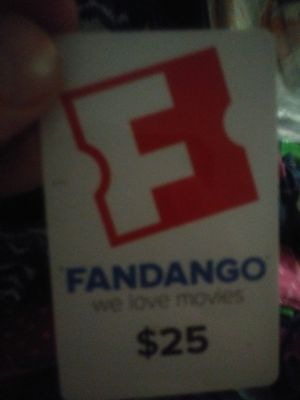 Fandango movie card for Sale in Birmingham, AL