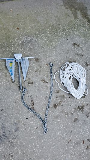 Small boat anchor for Sale in Davenport, FL