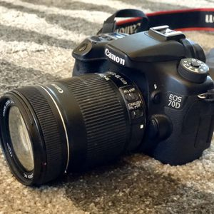 Canon 70D 20.2MP Digital Camera - Black for Sale in Stoughton, MA