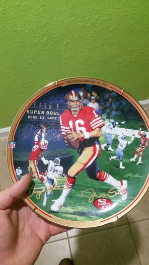 Nfl montana football 49ers for Sale in Delray Beach, FL