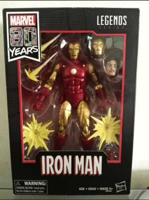Marvel Legends 80 Years Iron Man Collectible Action Figure Toy for Sale in Chicago, IL