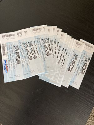Wet and wild tickets $5 each for Sale in Las Vegas, NV