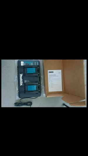 Makita Dual charger USB charger on it. for Sale in Santa Ana, CA