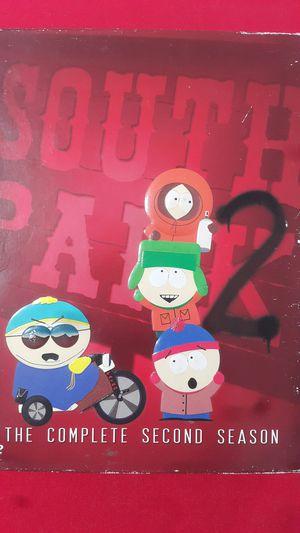 SOUTHPARK THE COMPLETE SECOND SEASON DVD for Sale in Miami Gardens, FL