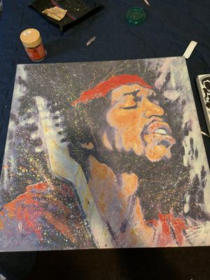 Jimi Hendrix canvas for Sale in Los Angeles, CA