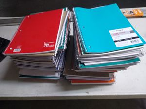 70 sheet ..just basic notbooks for Sale in Redwood City, CA