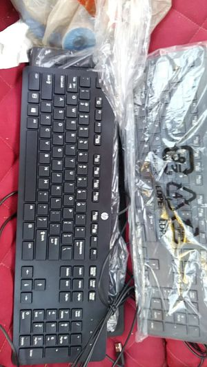 HP keyboard, wired for Sale in Garden Grove, CA
