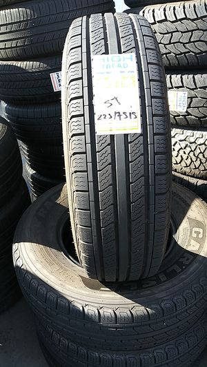 4 tires for sale 225/75r15 for Sale in El Cajon, CA