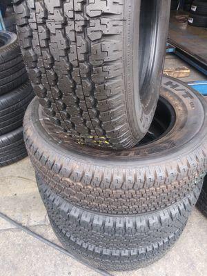 Set de 4llantas-245/70/16-Bridgestone.95% Life for Sale in Glendora, CA