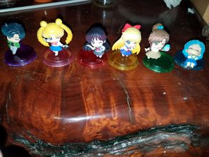 Sailor moon chibi figurines $20 for all for Sale in Las Vegas, NV