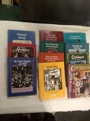 Reminisce Books (10) PLUS extra Hometown Memories for Sale in Atascadero, CA