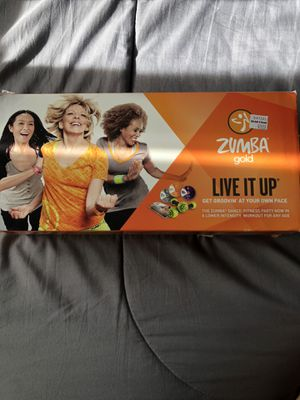 Zumba set for Sale in Westminster, CA