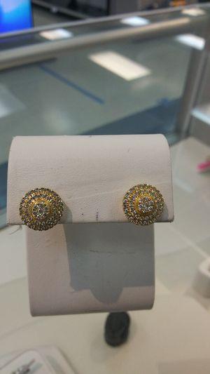 Gold/Diamond Earrings(10k) for Sale in Houston, TX