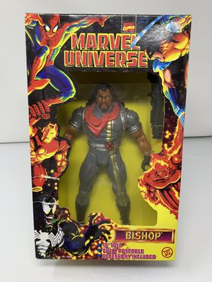 Vintage 10 inch Marvel's Bishop of The X-Men Figure (Brand New/Plastic screen popped off) for Sale, used for sale  Washington, DC
