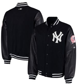 Authentic New York Yankees Majestic On-Field Varsity Jacket NEW for Sale in Las Vegas, NV
