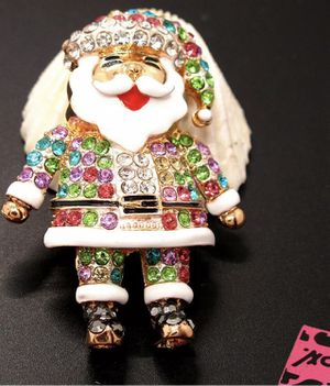 Betsey Johnson Santa pendant/brooch 🎅🏼 🎅🏼🎅🏼$10 $10 for Sale in Las Vegas, NV
