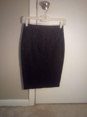 Pull up Black Leopard Skirt for Sale in North Venice, FL