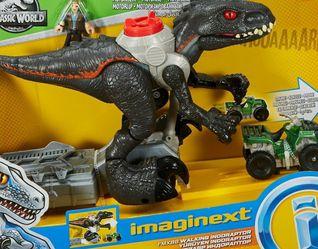 Jurassic World Imaginext Walking Indoraptor Figure Set [Motorized!] for Sale in Brooklyn,  NY