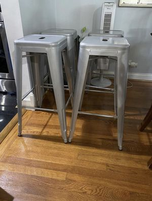 Bar stool 30 inch set of 4 for Sale in Skokie, IL