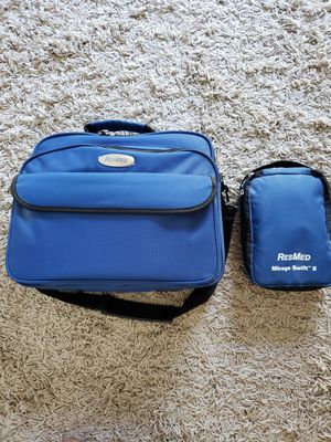 ResMed CPAP S8 Machine, Humidifier with water chamber, Canvas storage bags, 6' hose for Sale in Ventura, CA