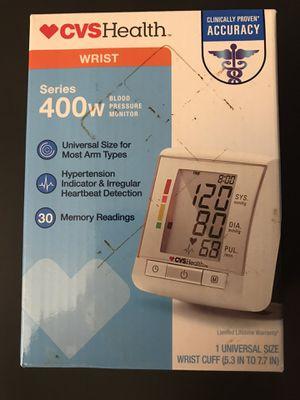 CVS Health Series 400w Wrist Blood Pressure Monitor White. for Sale in Santa Ana, CA
