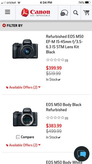 Canon M50 for Sale in Hawthorne, CA