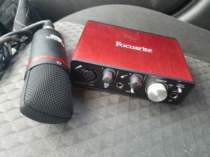 Focusrite Scarlett 2i2 interface for Sale in Pittsburg, CA
