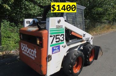 🎁● FOR SALE ●🎁1997 Bobcat 753 Final Price $1400 ●🎁 for Sale in Rancho Cucamonga,  CA
