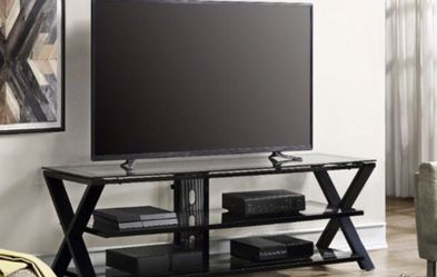 """Whalen Furniture - 75"""" TV Console For Most Flat Panel TVs Up to 75"""" - Black for Sale in Fontana,  CA"""