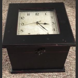 Clock With Storage for Sale in Commack, NY