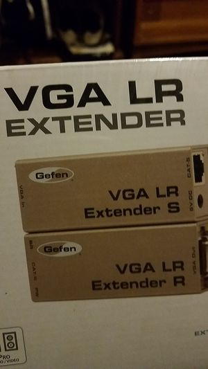 2x (Gefen) VGA LR EXTENDER for Sale in Cleveland, OH
