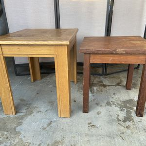2 Small Tables (excellent For DIY Projects ) for Sale in Las Vegas, NV