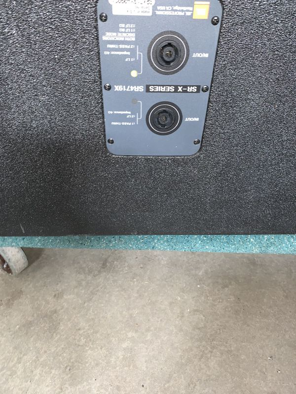 "JBL SR4719X Dual 18"" Subwoofer (one only)"