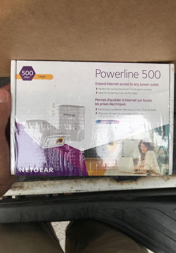 Home Plug Netgear Powerline 500