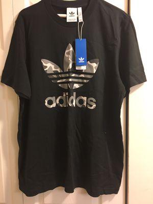 Men Black Adidas shirt, Large for Sale in Washington, DC