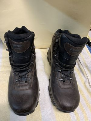 Hi-Tec Boots Size 15 Like New Motorcycle Work Hiking for Sale in North Miami, FL