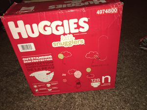 Newborn buggies diapers for Sale in Fresno, CA