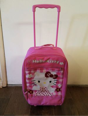 Hello kitty child's suitcase for Sale in San Marcos, CA
