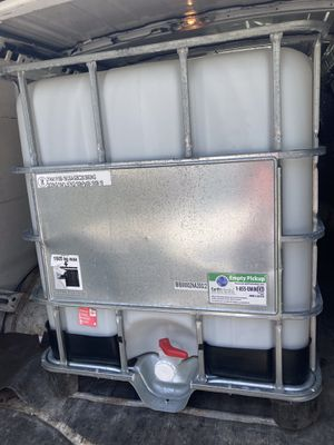 275 gallon IBC tote/water tank for Sale in Upper Marlboro, MD