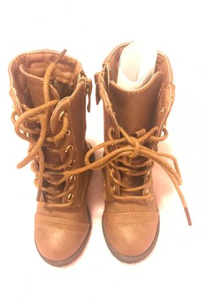 Baby girl , Tan boots for Sale in Baltimore, MD