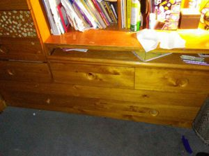 Kid Bed desk and closet twin bed for Sale in San Francisco, CA