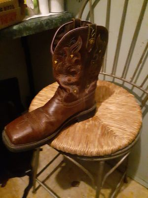 Justin original workboot womens size 11 for Sale in Grand Prairie, TX