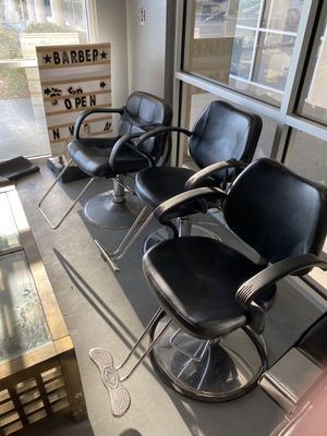 Styling chairs for Sale in San Antonio, TX