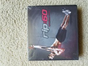 Rip: 60 workout dvds for Sale in Irvine, CA