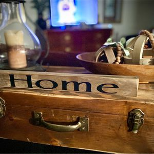 Rustic Style HOME Plaque for Sale in Lakeland, FL
