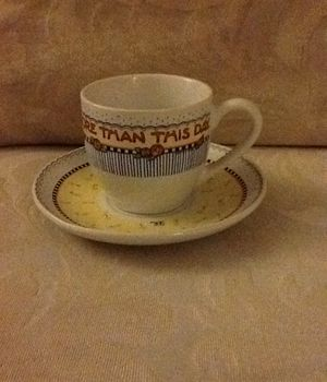 """Mary Engelbreit Tea Cup """"Nothing Is Worth More Than This Day"""" for Sale in Allen Park, MI"""