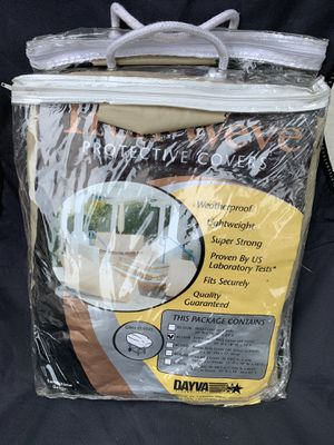 Dayva International Extra Large BBQ/Grill Cover with Elastic. Sandstone Beige. NEW for Sale in Santa Fe Springs, CA